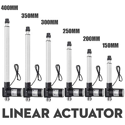 6000n Electric Linear Actuator 1320 Pound Max Lift Heavy Duty 24v Dc Motor