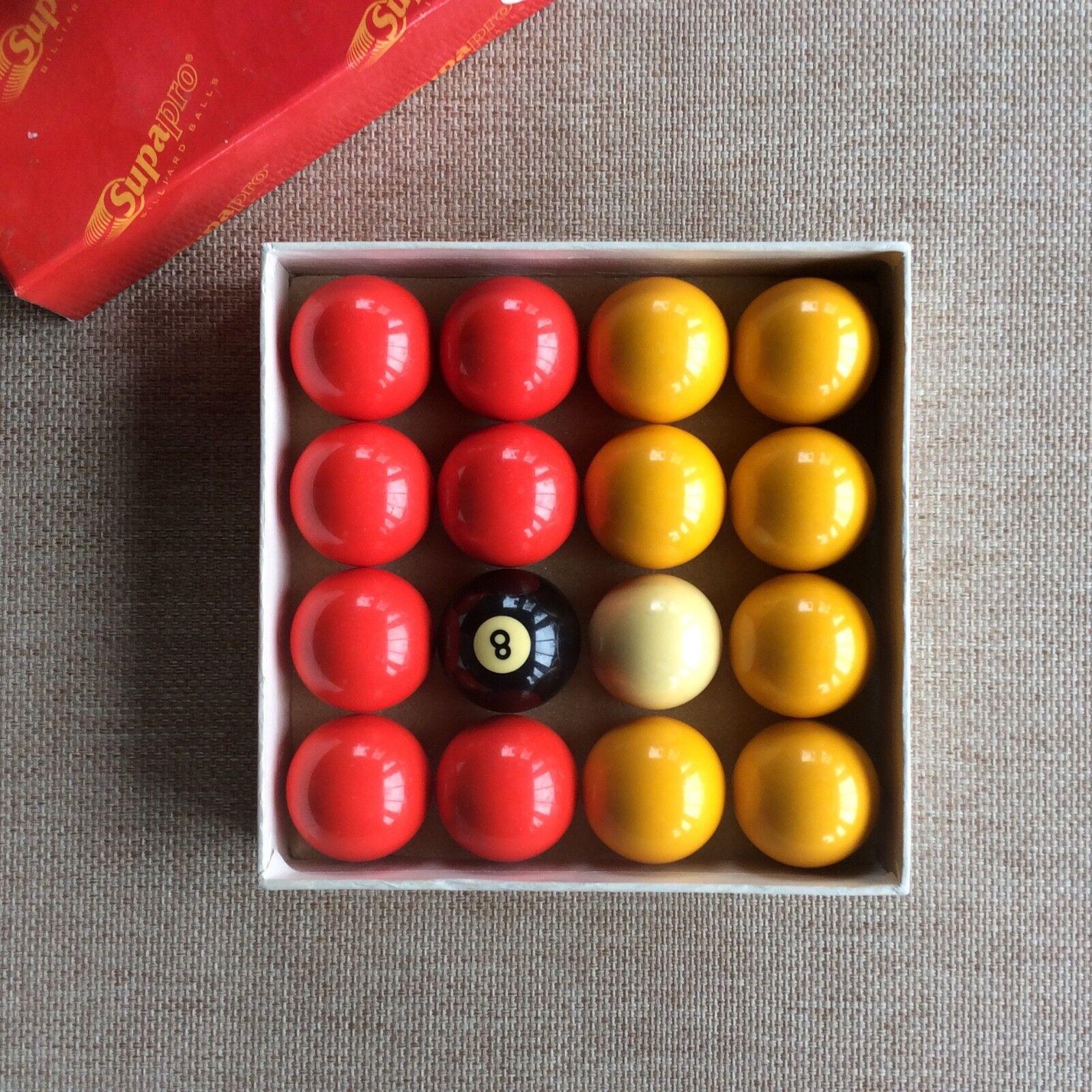 Supapro Billiard Balls / Pool Balls / Style 3112T 2