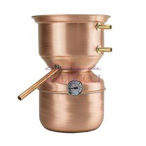 Alambicco-distillatore-in-rame-per-grappa-3L-a-fungo-con-termometro