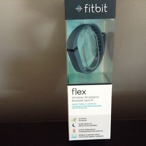 Brand New Fitbit Flex Deep Blue W/Two Bands