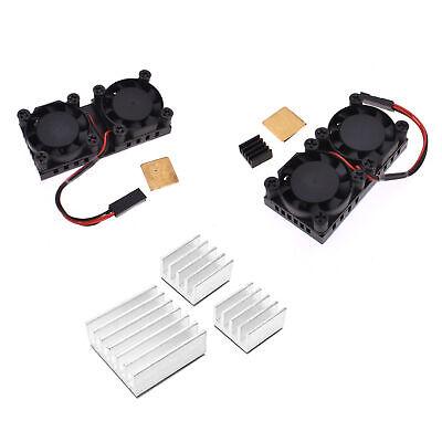 Ultimate Dual Cooling Fan Kit Module  Raspberry Pi 3/2B 3B+ With Heatsink