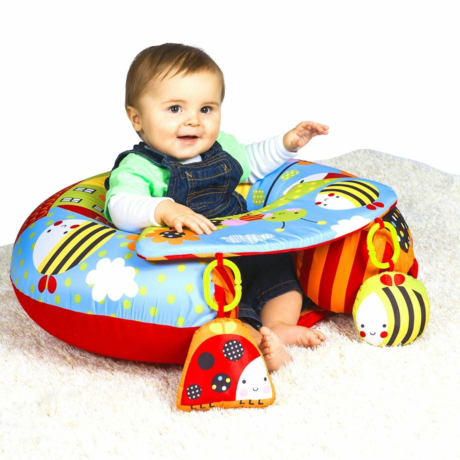Red Kite Sit Me Up Padded Inflatable Baby Activity Seat