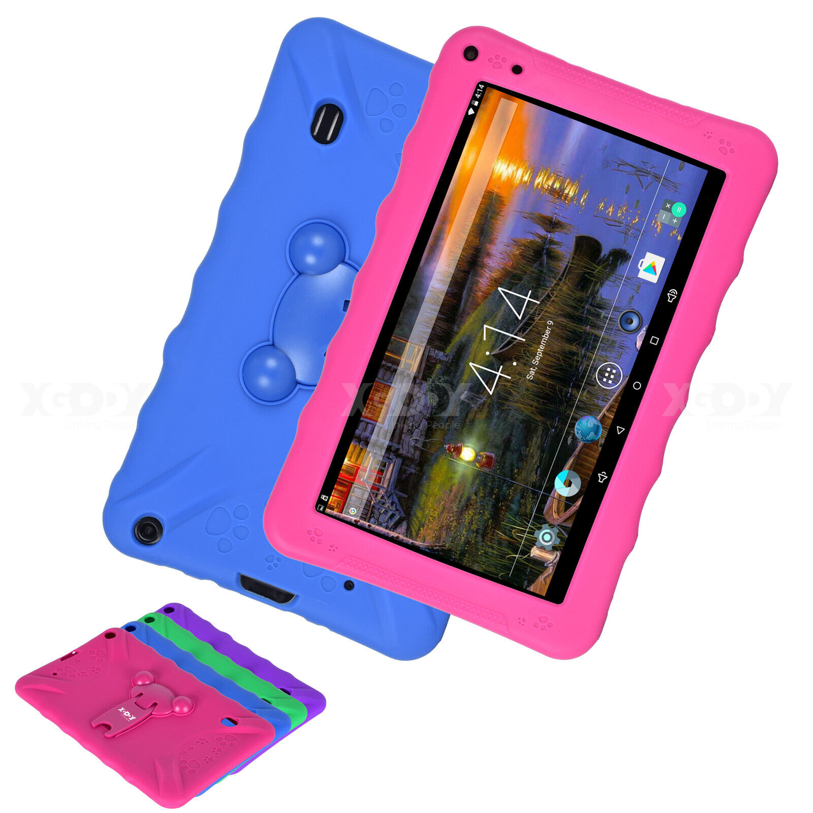 "XGODY Newest Tablet PC 9"" inch Android 6.0 1+16GB Quad Core Adult Wifi 2xCamera"