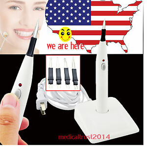 Dental Endo Cordless Gutta Percha points Tooth Gum Cutter + 4 Tips USA SALE!