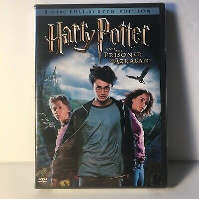 Harry Potter and the Prisoner of Azkaban (DVD,2004,2-Disc,Full Screen) NEW