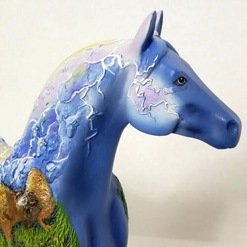 Trail of The Painted Ponies Rolling Thunder Retired 1E/8256 New