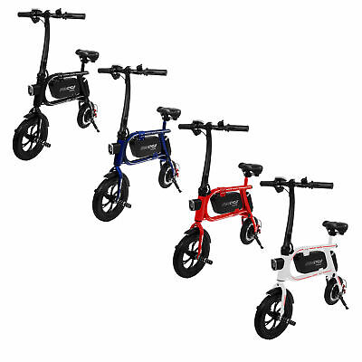 Swagtron Envy Steel Alloy Frame Folding E-Bike for Kids Teens Adults SwagCycle