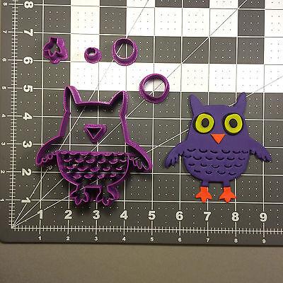 Halloween Owl 100 Cookie Cutter -