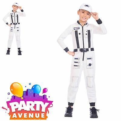 Childrens Astronaut Boys Girls Space Moon Fancy Dress Costume ](Girls Astronaut Costume)