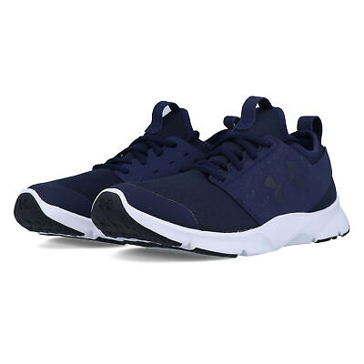 Under Armour Mens Drift RN Mineral Running Shoes Sneakers Trainers Navy Blue
