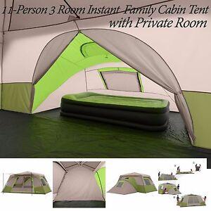 3 Room Family Tent Ebay