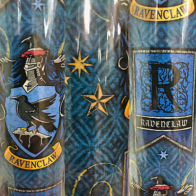 1 Roll Blue Harry Potter Ravenclaw Birthday Gift Wrapping Paper 22.5 sq ft