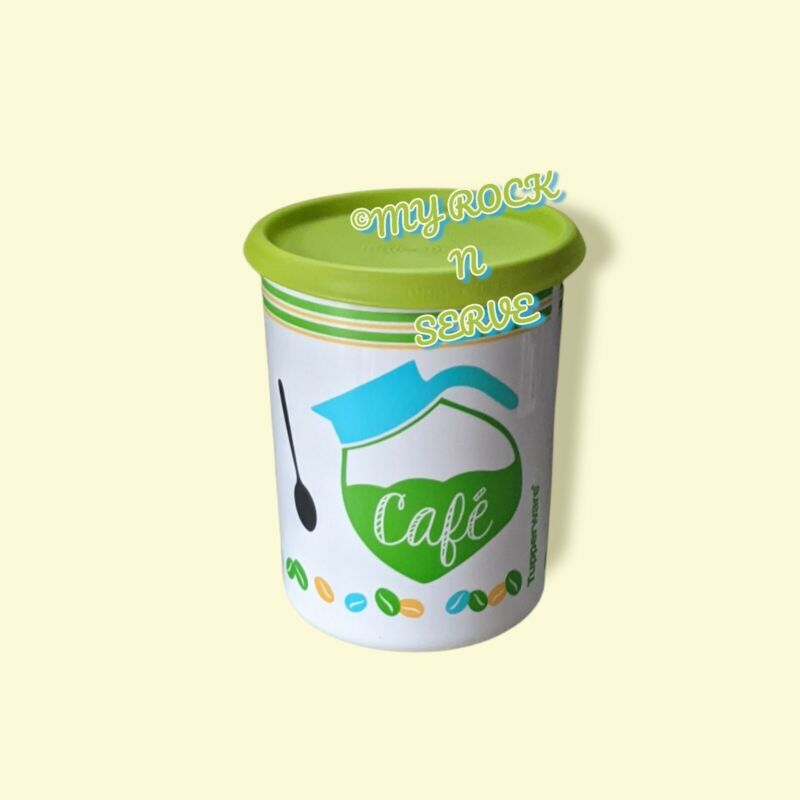 """Tupperware One Touch Cafe Canister 5-cup Canister """"A"""" New"""