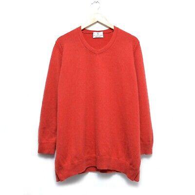 Iris von Arnim 100% Cashmere Sweater Pullover Cardigan Size XL Made in Italy
