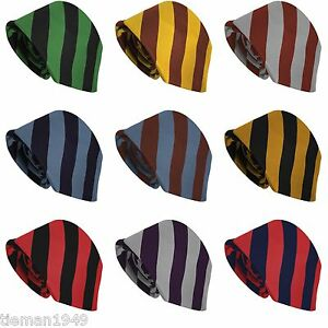Pick-your-own-School-Tie-23-Block-Stripe-Variations