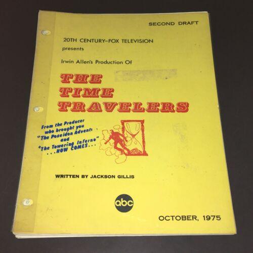 """Irwin Allen """"TIME TRAVELERS"""" (Oct."""