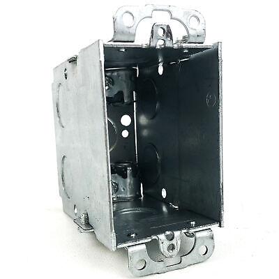 3 X 2 Square Corner Switch Box 3-12 Deep Gangable Appleton 175f 10pk