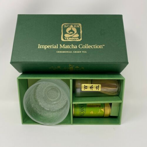Japanese Matcha Bowl and Whisk Set by Teavana Imperial Matcha Collection