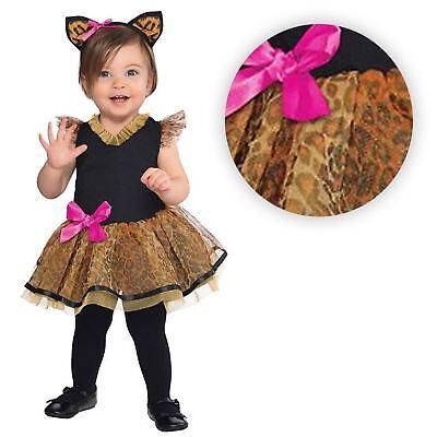 Mädchen 12-24 Monate Kleinkind Buch Woche Cutie Katze Kitty Leopard - Kleine Mädchen Kitty Katze Kostüm