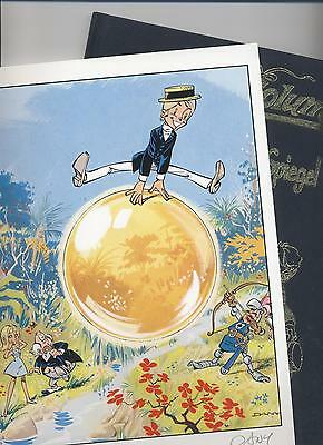 OLIVER & COLUMBINE # 7 LUXUS + sign. DRUCK - DANY / GREG - TOP