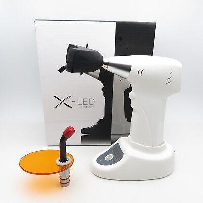 X-led Dental Curing Light Measuring Base Teeth Whitening Model Tip White