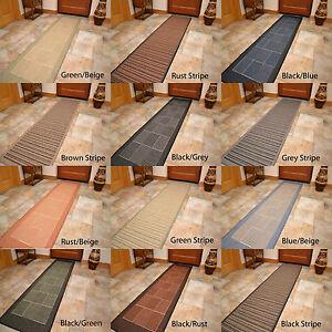 Non slip very extra really long narrow wide hallway hall runner floor carpet rug ebay - Extra long carpet runners ...
