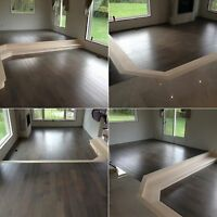 Professional Hardwood & Laminate Installations