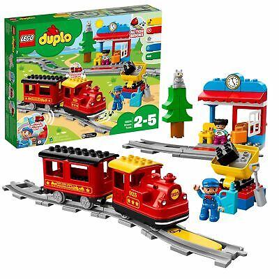 LEGO DUPLO My Town Steam Train Set with Action Bricks 10874