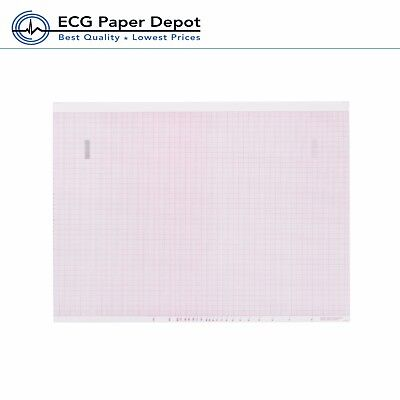 Ecg Ekg Thermal Paper Woks For Mortara Ecg Machines 216mm X 458mm Z-fold 6 Pads
