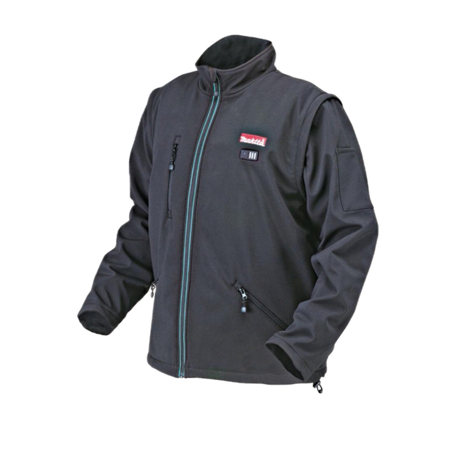 Makita Softshell Jacke Größe S-XXXL 10,8 V Akku-Heizjacke Heizweste Outdoorjacke