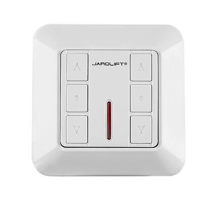 Interruptor para persianas enrollables 2 canales motores radio receptor JAROLIFT