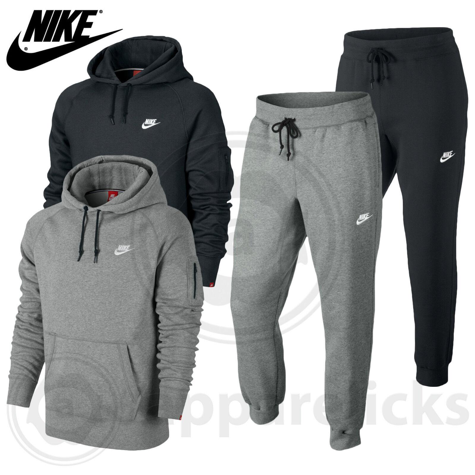 Nike Jogger pantalon de jogging gris noir