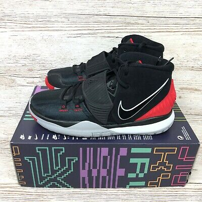 NIKE KYRIE 6 GS BRED BASKETBALL size UK 6 EUR 39 US 6.5Y BQ5599 002