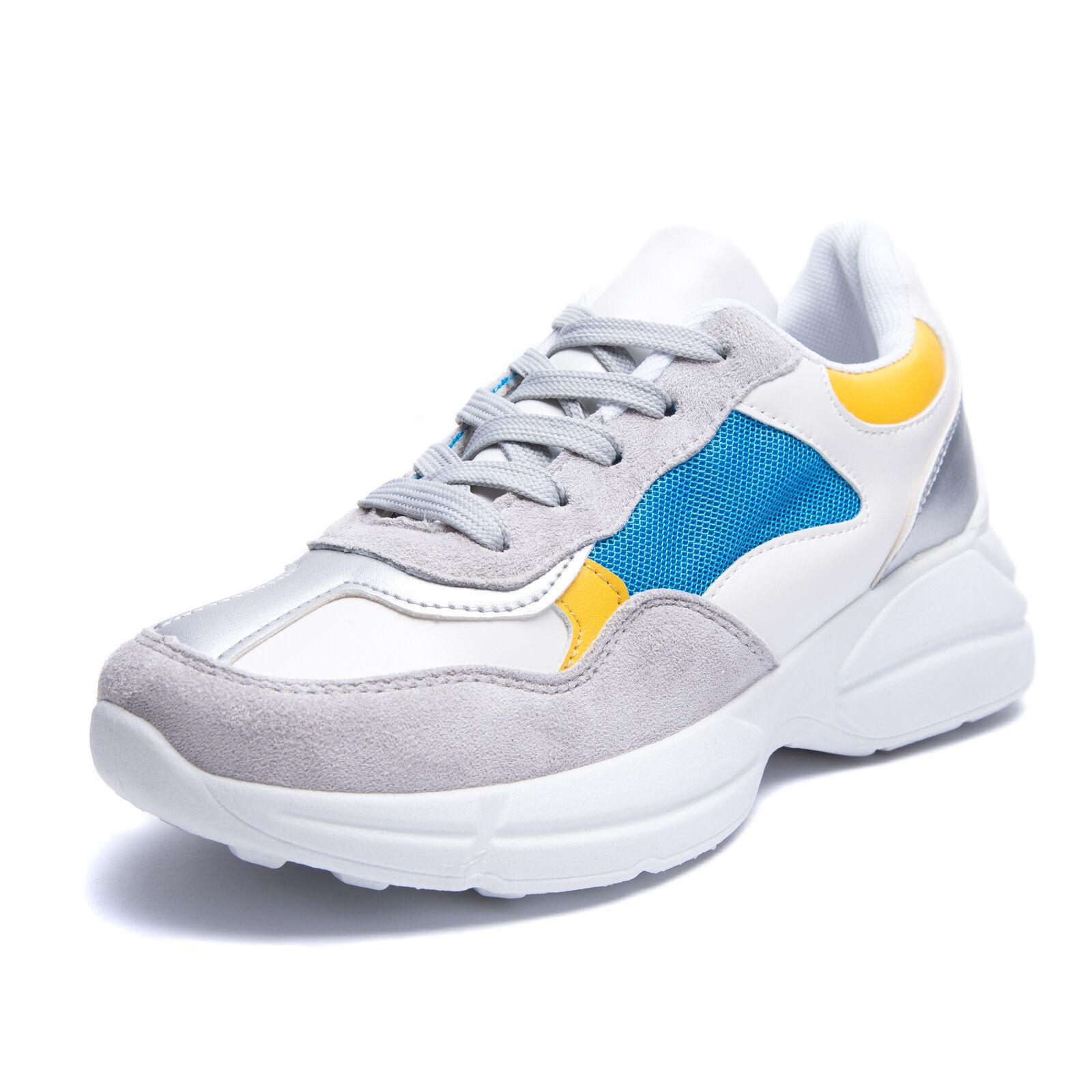 Scarpe donna casual sneakers ginnastica fitness corsa running zeppa moda  vb82059 78080031cc6