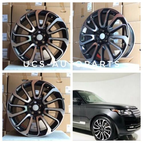 NEW 22 WHEELS RIMS FITS RANGE ROVER SPORT LAND ROVER DISCOVERY SPORT SET OF 4