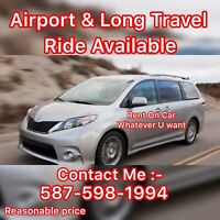 Airport ride Available