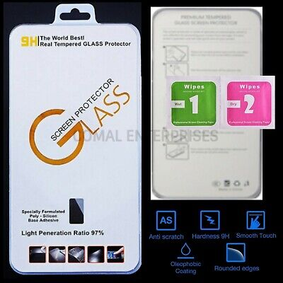 Screen Protector Tempered Glass 9H Hardness Quality Genuine for Motorola Moto C