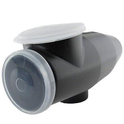 Tippmann A5 X7 M98 300 rnd Offset Hopper Loader -Black- MADE IN USA - Offset Paintball Hopper