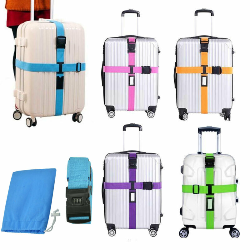 Suitcase Luggage Buckle Strap Travel Baggage Security Tie Down Utility Belts