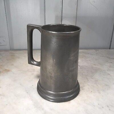 Antique pewter tankard Cachar Gymkhana Club dated 1940