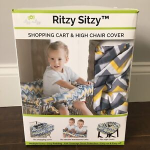 Baby shopping cart and high chair cover
