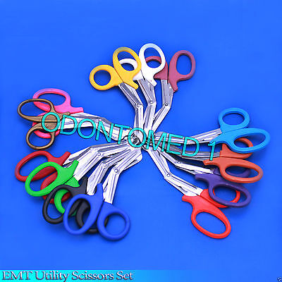 50 Pairs Trauma Shears Bandage Scissors 7 14
