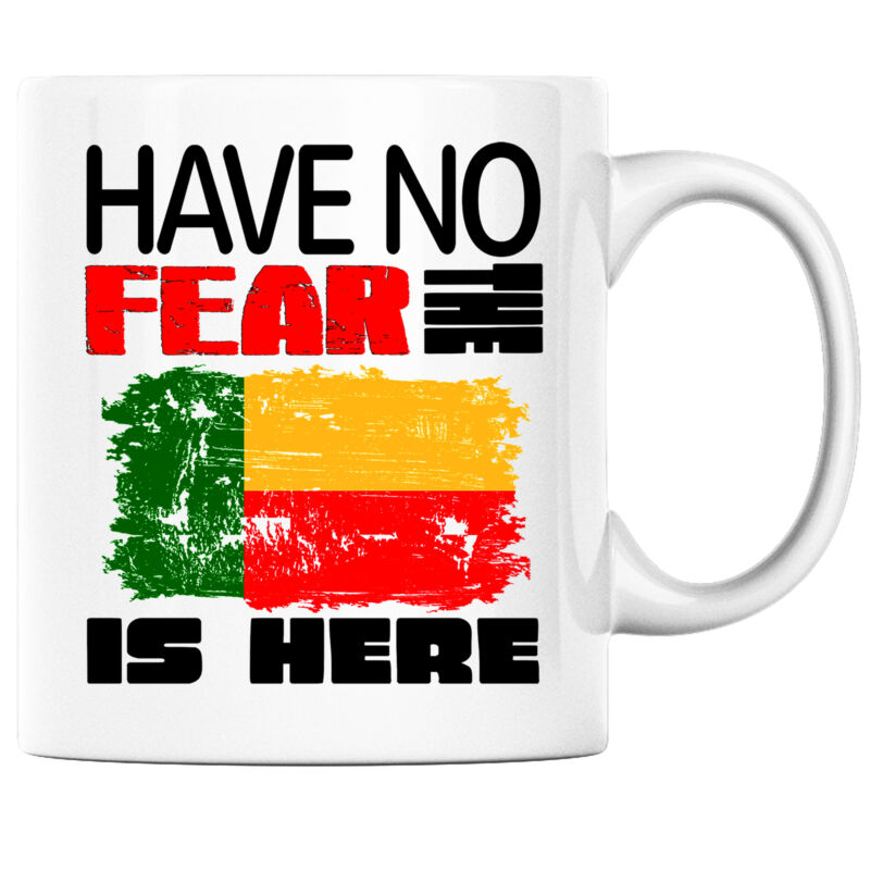 Have No Fear the Beninese is Here Funny Coffee Mug Benin Heritage Pride
