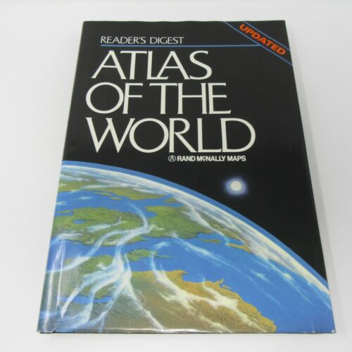 Atlas Of The World Readers Digest Rand McNally 1992 Maps Geography