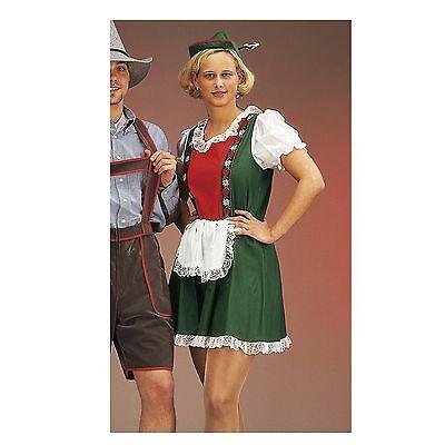 Dirndl Hut grün Oktoberfest Kleid Bayern Damen Outfit oldschool 1211604G13