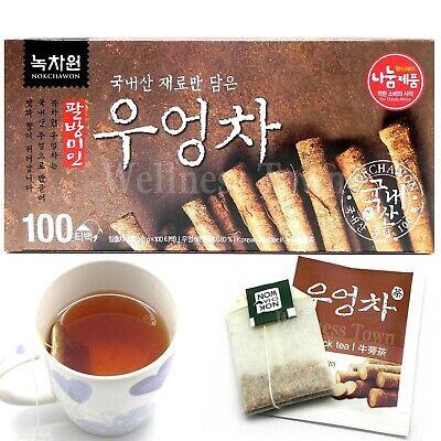 Korean NOKCHAWON Burdock Tea 100 Tea bags / blood purifier, weight loss