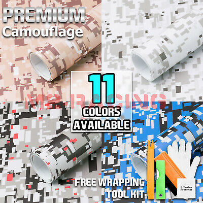 - *Digital Camouflage CAMO Digital Army Vinyl Sticker Wrap Decal Air Release