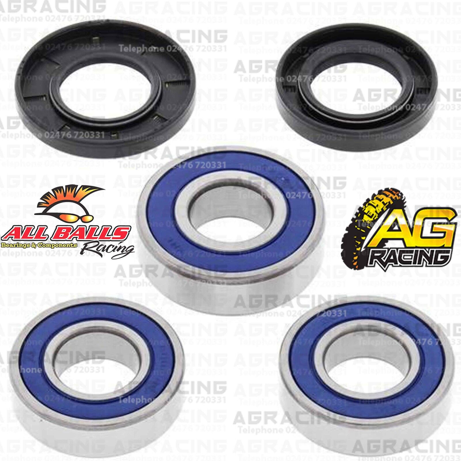 All Balls Rear Wheel Bearings /& Seals Kit For KTM EXC 450 2005 Motocross Enduro