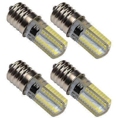 4x E17 Base Silicone Crystal LED Bulbs Warm White for Kenmor