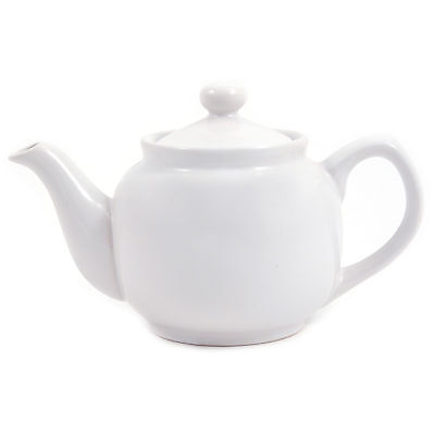Amsterdam 2 Cup Teapot - White